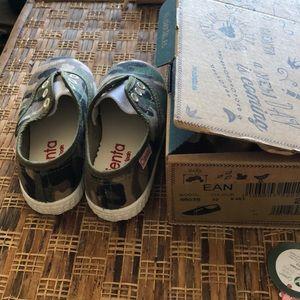 CIENTA Shoes - CIENTA Slip on Camaflage Kids Sneakers